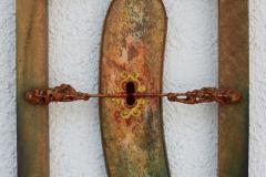 Ključanica, kombinirana tehnika, 40x30x8cm, 2014.