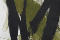 Manuela Drk - Dio mene; duboki tisak - bakropis, reservage, akvatinta, 100x70cm, 2016.