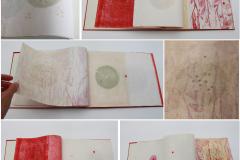 Celestina Vičević - Shakti; knjiga umjetnika, drvorez i linorez, 20x30cm, 2020.