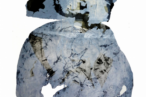 02 Ena Bajuk - Kompozicija IV; linorez, akvatinta i suha igla, 100x70cm, 2017.